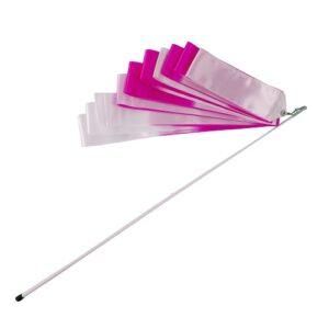 Лента гимнастическая с палочкой Larsen A236-1 6 м